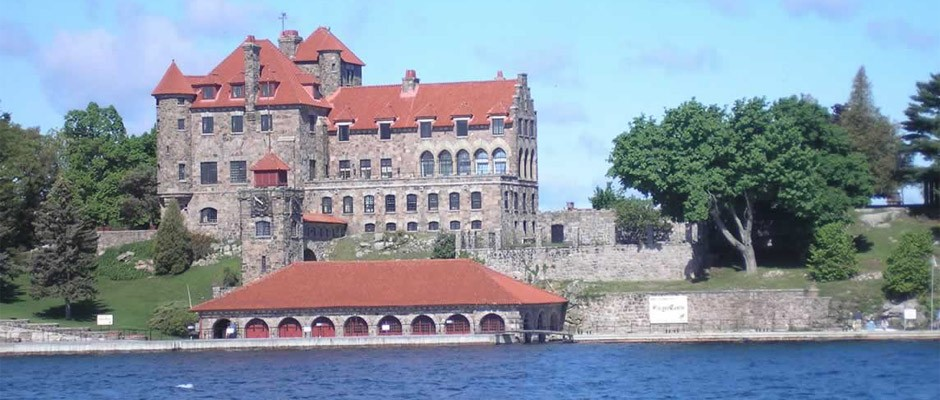 Photo of singer castle from the water