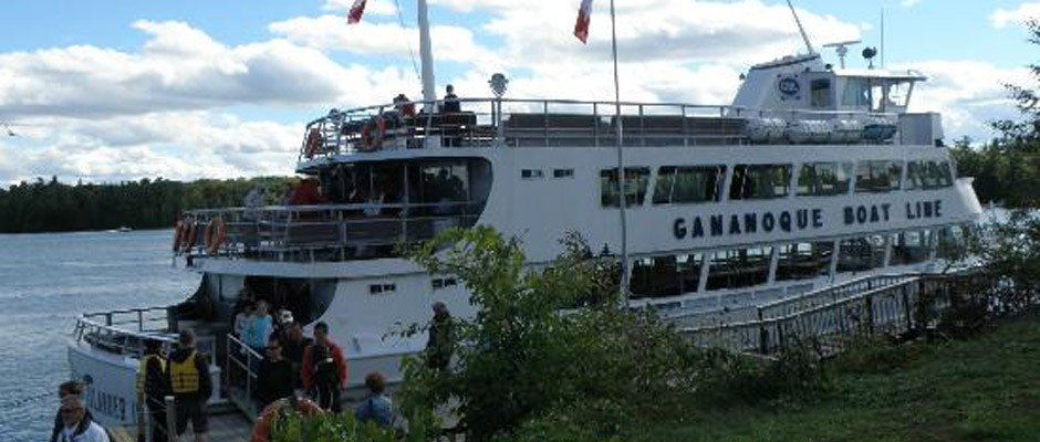 Photo of a tour boat